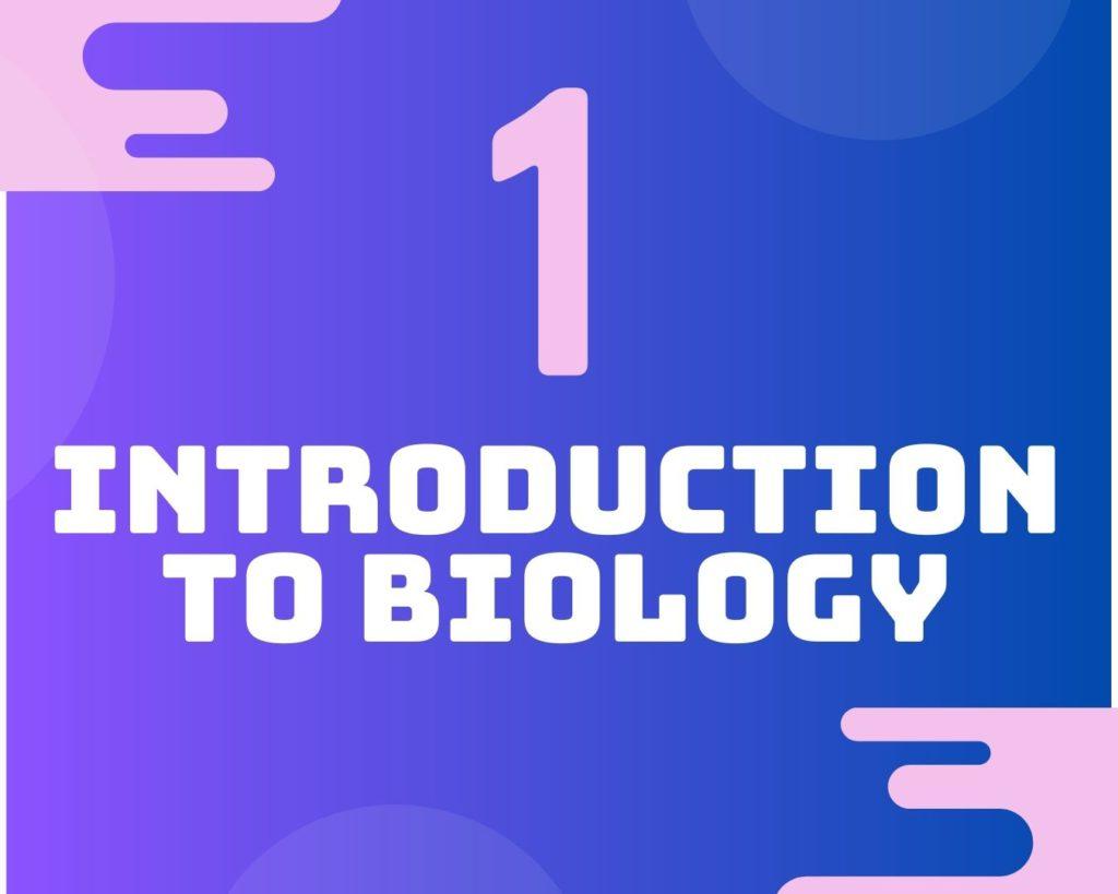 1Introduction to biology 補biology 補bio 生物補習 hkdse dse dsebio biology bio